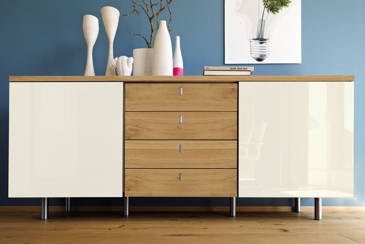sideboard h lsta now time boschung. Black Bedroom Furniture Sets. Home Design Ideas